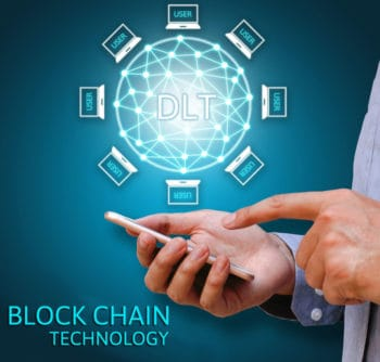 DLT via Blockchain