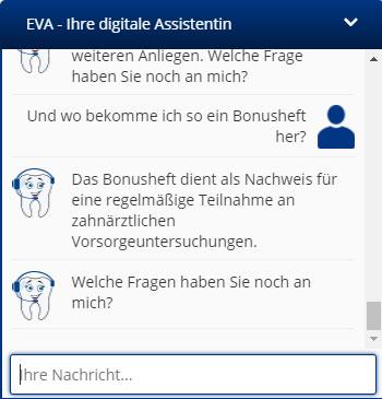 Chatbot im Einsatz