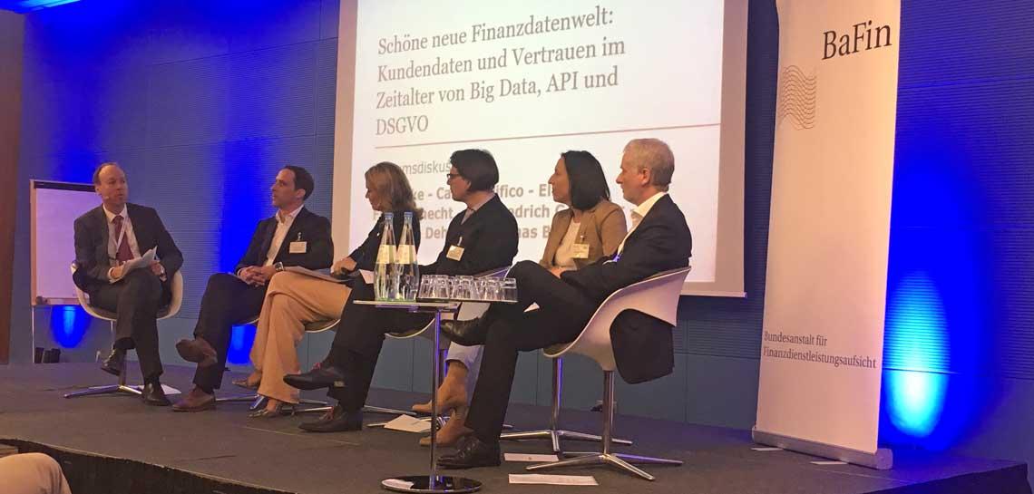 Podiumsdiskussion der BaFin zu Technologiethemen