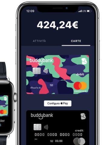 Buddybank kommt mit virtuellen MasterCards