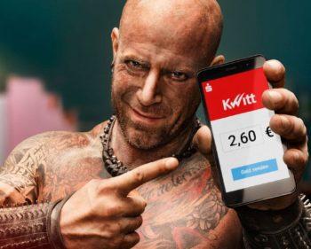 Kwitt-Werbung der Sparkassen