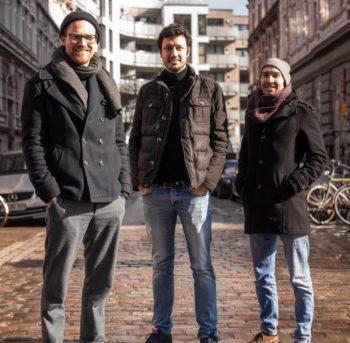 Tomorrow-Gründer Jakob Berndt, Inas Nureldin und Michael Schweikart.