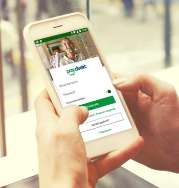 Paydirekt auf dem Smartphone