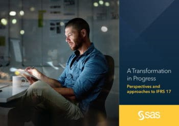 "SAS-Studie: ""A Transformation in Progress: Perspectives and Approaches to IFRS 17"""