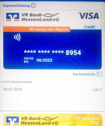 Mobile Payment per Visa und girocard