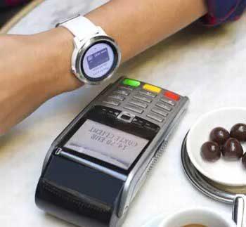 Garmin Pay mit Mastercard im POS-Einsatz