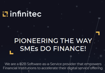 Die Infinitec-Website ist noch sehr rudimentär