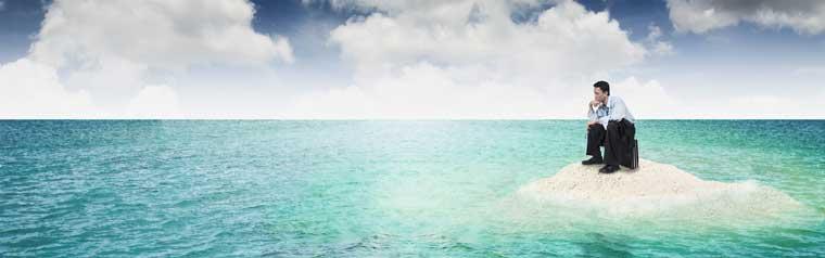 Digitale Identitäten - jede Bank sitzt auf ihrer Insel