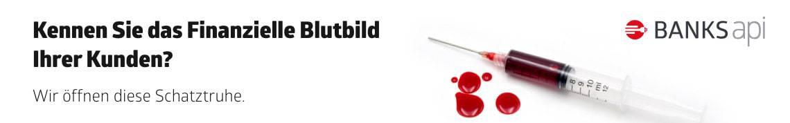 BANKSapi - Kennen Sie das Finanzielle Blutbild Ihrer Kunden? Wir öffnen diese Schatztruhe.