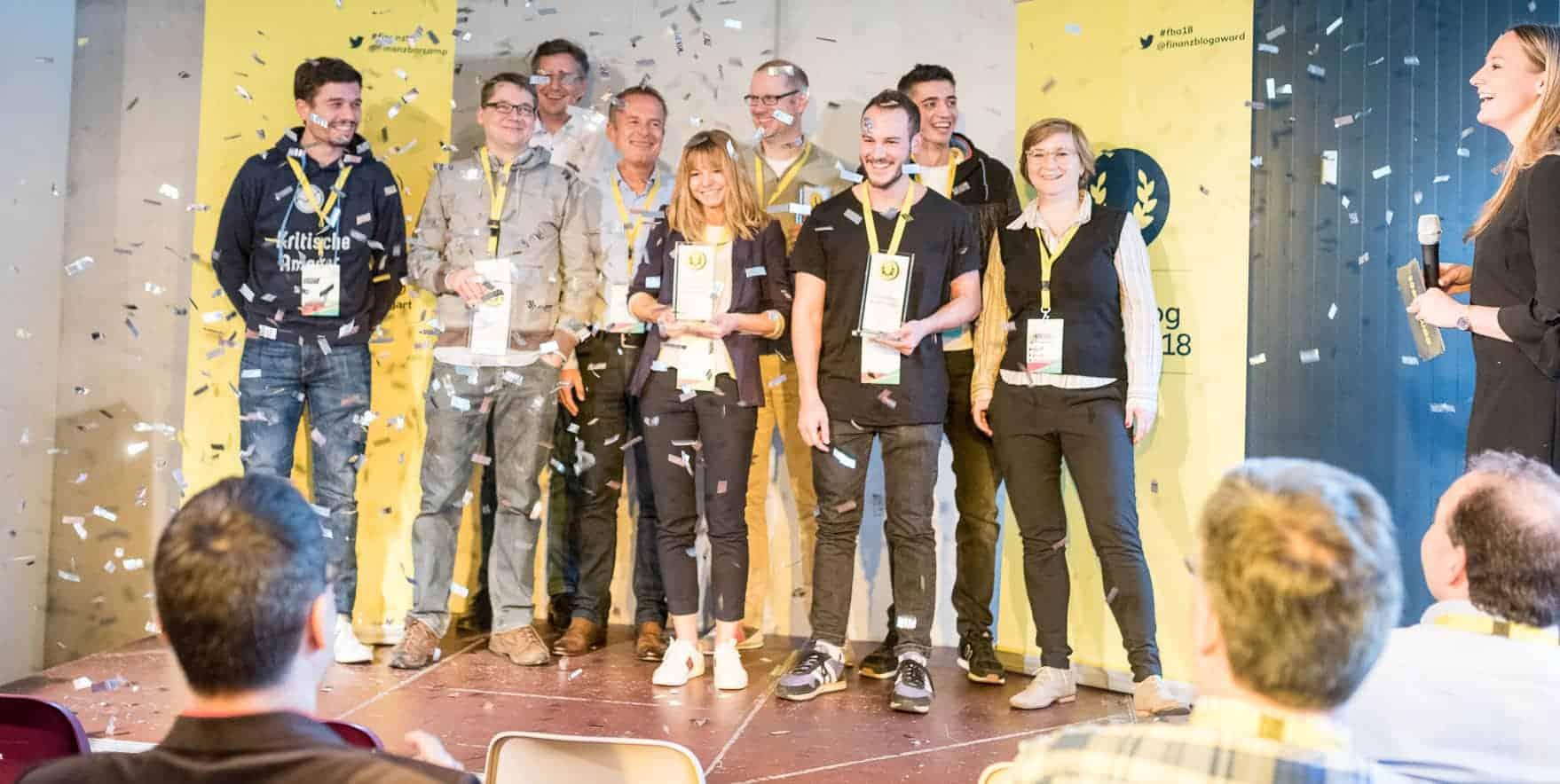 finanzblog award - die Sieger (und Jury)