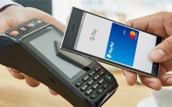 PayPal per Google Pay und Mastercard