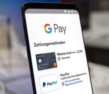 Mastercard Instant Issuing via PayPal in Google Pay