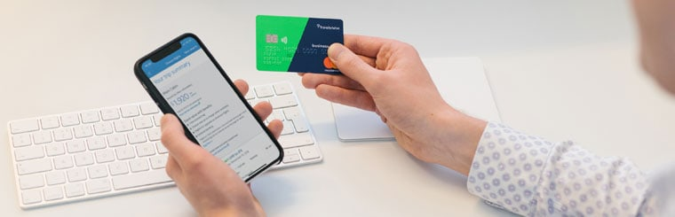 Die neue Transferwise Debit-Mastercard.