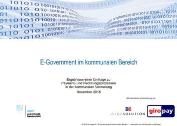 Ibi Research Fast Jede Zweite Kommune Ermöglicht Online Bezahlung