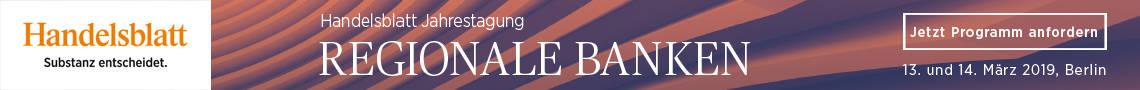 Handelsblatt Jahrestagung Regionale Banken