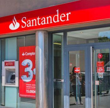 Santander Filiale in Barcelona