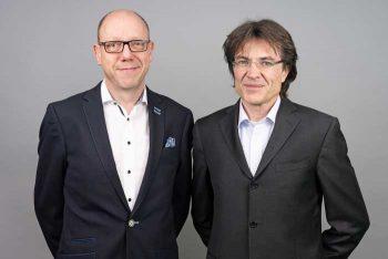 Michael Brand und Thomas Wolf, Vostaände BayDIT (Bayerische Digital)