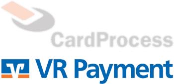 Aus CardProcess wird VR Payment (altes und neues Logo im Bild)