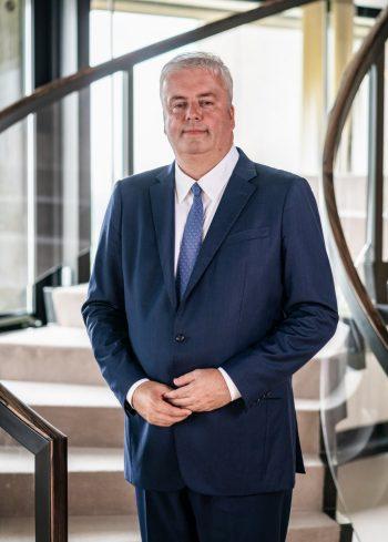 Burkhard Balz, Mitglied des Vorstands der Deutschen Bundesbank und verantwortlich für den Themenbereich Zahlungsverkehr