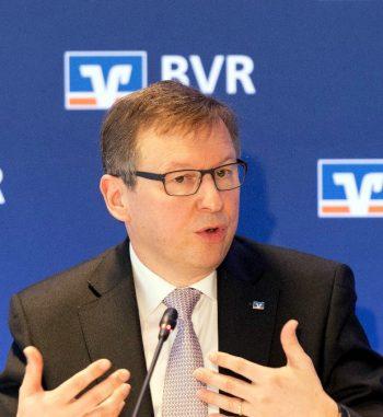 Dr. Andreas Martin, Vorstandsmitglied des Bundesverbandes der Deutschen Volksbanken und Raiffeisenbanken (BVR).