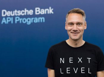 Joris Hensen, Co-Leiter Deutsche Bank-API-Programm