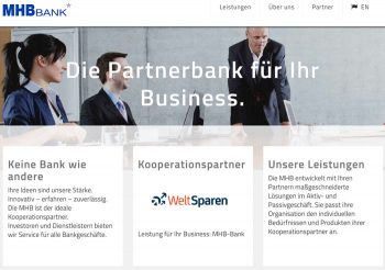 Website MHB-Bank