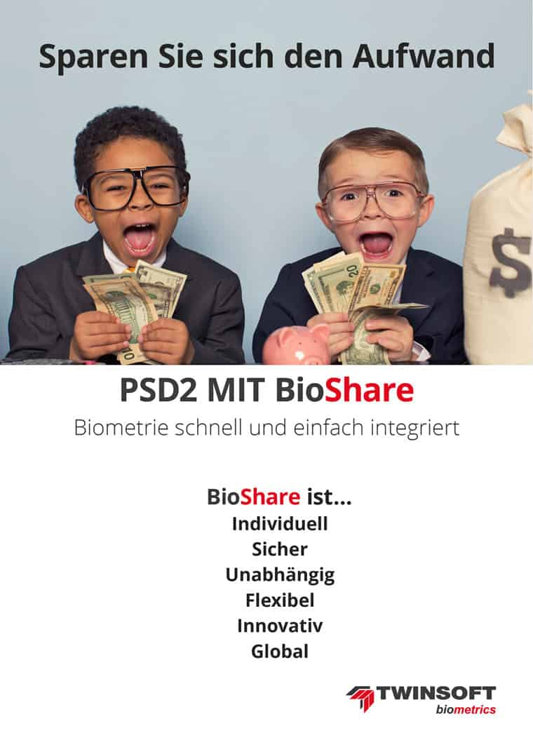 PSD2 mit BioShare