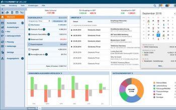 Star Money der Star Finanz in der Windows-Version Dashboard