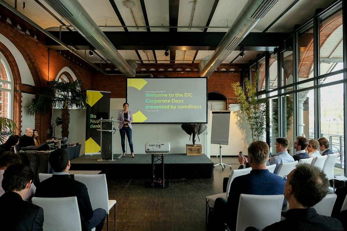 Keynote: EIC Corporate Day