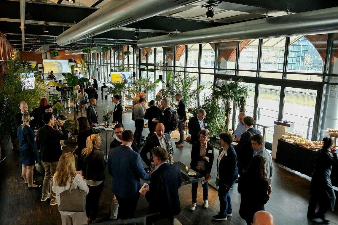 EIC Corporate Day: Netzwerken