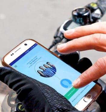 eCall mit Leitstelle für Radfahrer - Rückleuchte erkennt Sturz und startet via Smartphone den GPS-Notruf