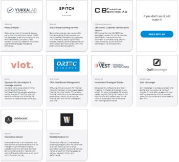 Die ersten neun FinTechs auf der Avaloq-Plattform