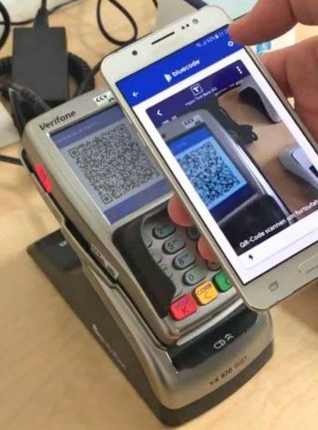 Mobile Payment per Bluecode und dem neuen QR-Code