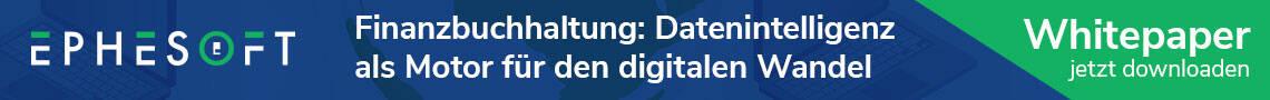 EPHESOFT - Finanzbuchhaltung: Datenintelligenz als Motor für den digitalen Wandel - Whitepaper jetzt downloaden