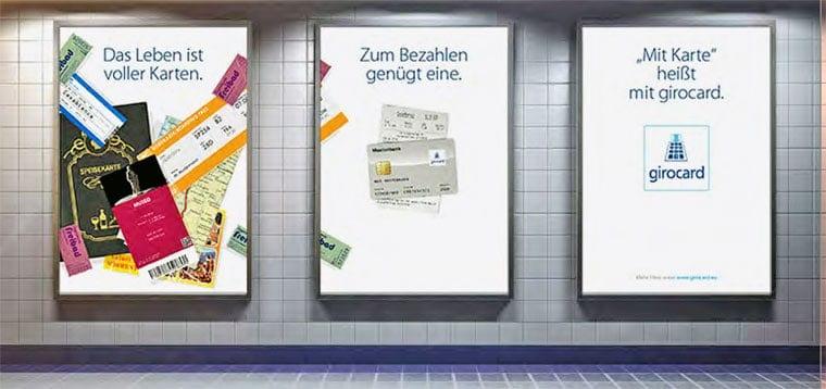 Mitte 2015 wurde mit der girocard Vermarktung begonnen