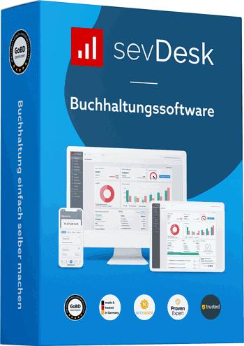Sevdesk ist eine Buchhaltung als Cloudsoftware