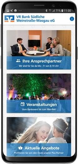 """Die Info-App """"VR Star"""""""