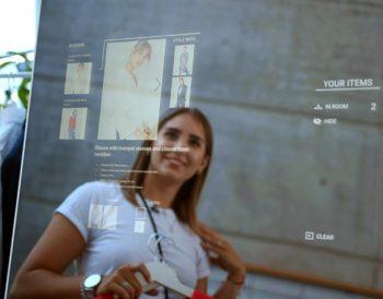 Smart Mirror von Wirecard