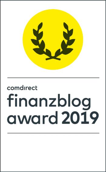 comdirect finanzblog award logo