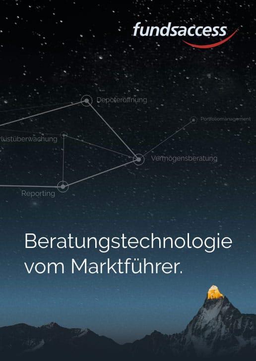 Beratungstechnologie vom Marktführer - fundsaccess