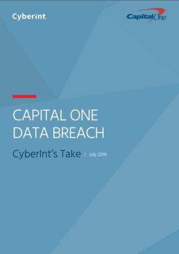 Cyberint Bericht zum Datenklau bei Capital One