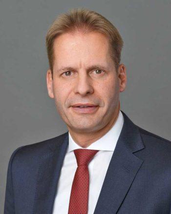 Stephan Müller, Bereichsvorstand Transaction Banking, Commerzbank zuständig für das Blockchain-Pilotprojekt