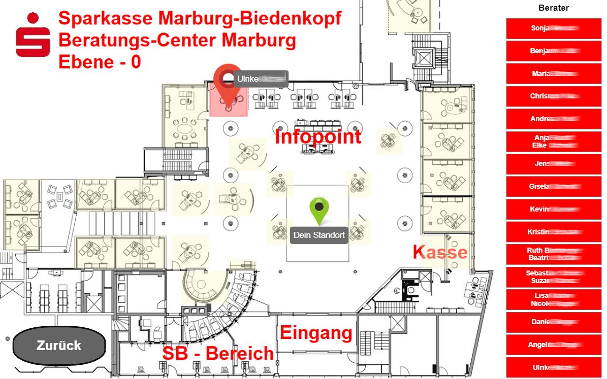 Damit NUMI weiß wo es hingehört ... <q>Sparkasse Marburg-Biedenkopf</q>
