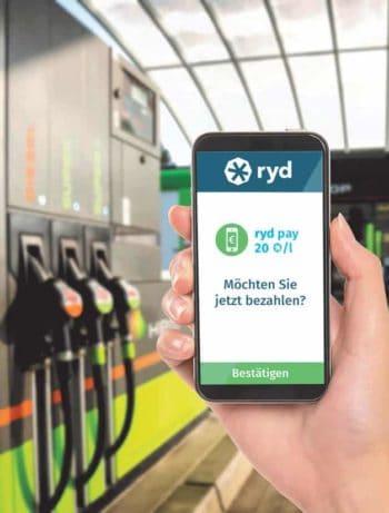 ryd app - Konkurrenz zu Shell Smartpay