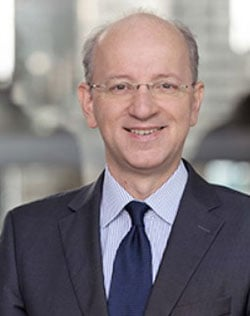 Dr. Christoph Böhm, IT-Vorstand Deutsche Börse gegenüber Handelsblatt