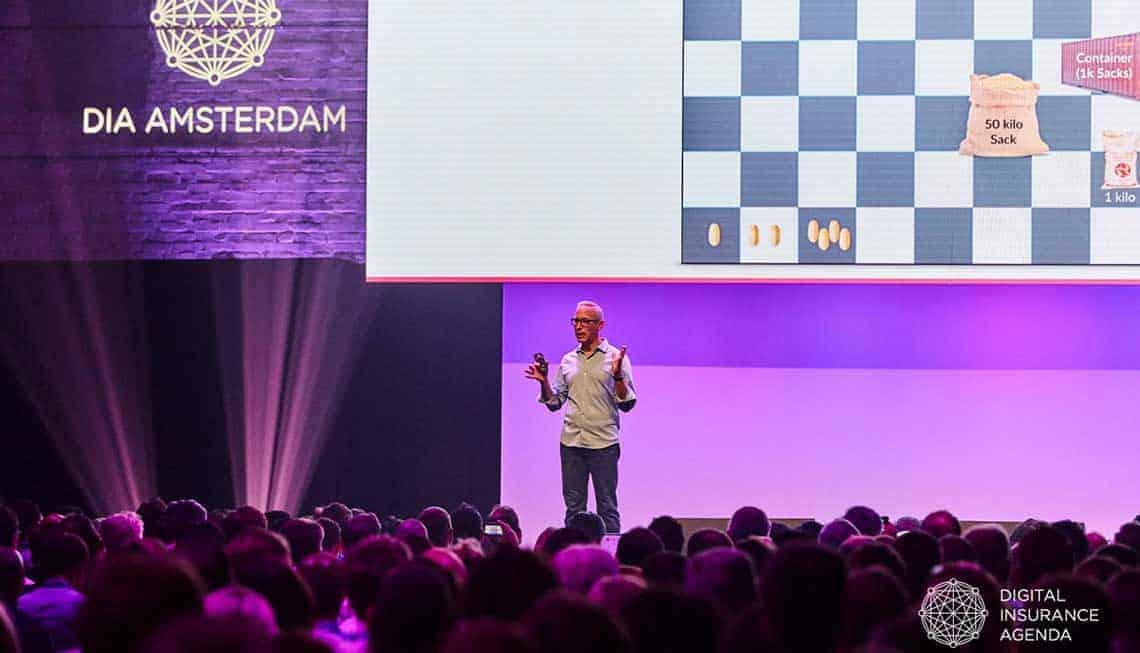 InsureTech: Daniel Schreiber, Mitgründer und CEO von Lemonade auf der DIA Amsterdam 2019