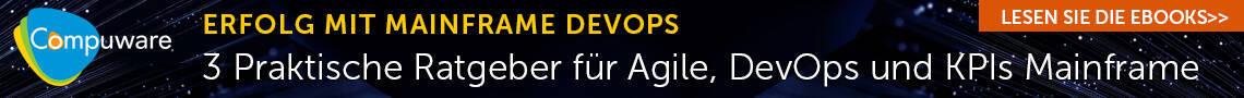 CompuWare - Erfolg mit Mainframe DevOps: 3 praktische Rategeber für Agile, DevOps und KPIs Mainframe