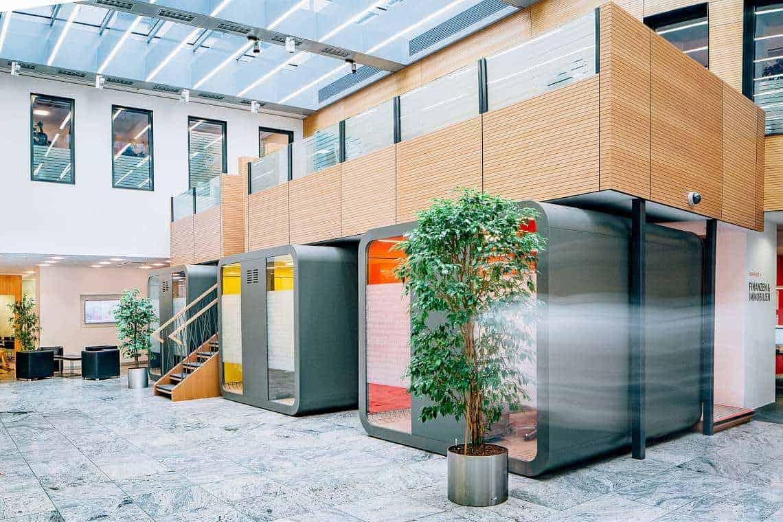 Kreissparkasse Augsburg: Die neue Schalterhalle
