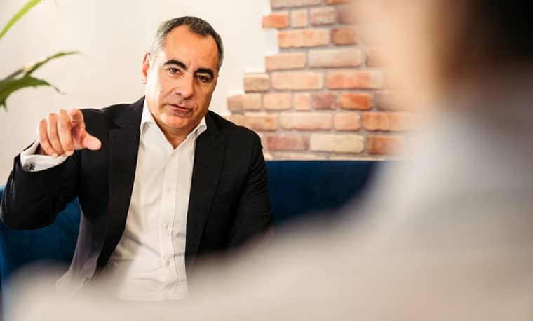 Carlos Gómez-Sáez, Vorsitzender GF VR Payment