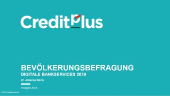 "Studientitel ""Digitale Bankservices 2019"""